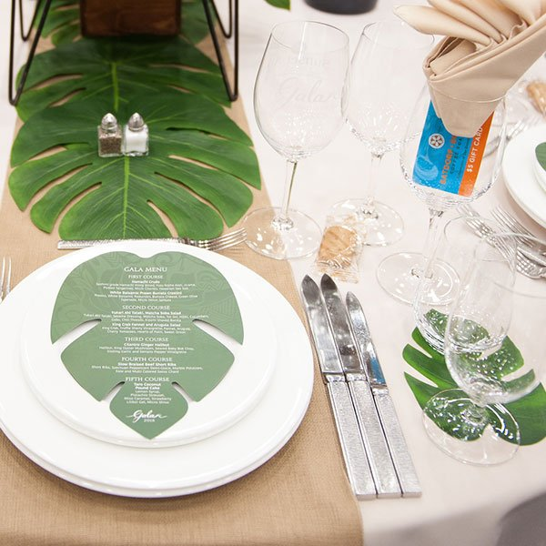 Setting the table for your Guests is part of a great event